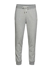 D1. GRAPHIC SWEAT PANTS - GREY MELANGE