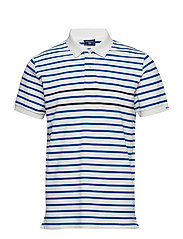 O2. STRIPED SS RUGGER - LAPIS BLUE