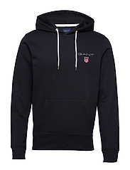 D1. MEDIUM SHIELD HOODIE - BLACK