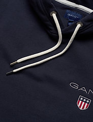 GANT - D1. MEDIUM SHIELD HOODIE - basic sweatshirts - evening blue - 2