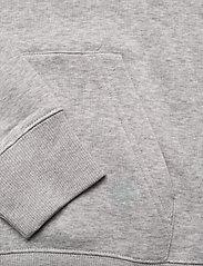 GANT - D1. MEDIUM SHIELD HOODIE - basic sweatshirts - light grey melange - 3