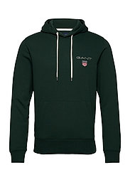 D1. MEDIUM SHIELD HOODIE - TARTAN GREEN