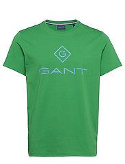 D1. COLOR LOCK UP SS T-SHIRT - AMAZON GREEN