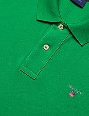 GANT - ORIGINAL PIQUE SS RUGGER - short-sleeved polos - amazon green - 2