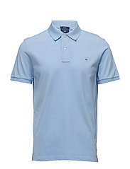 THE ORIGINAL PIQUE SS RUGGER - CAPRI BLUE