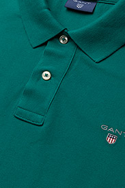 Gant - ORIGINAL PIQUE SS RUGGER - short-sleeved polos - emerald green - 2