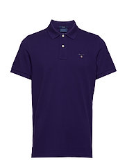 THE ORIGINAL PIQUE SS RUGGER - PARACHUTE PURPLE