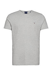 ORIGINAL SS T-SHIRT - LIGHT GREY MELANGE