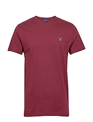 ORIGINAL SS T-SHIRT - PORT RED