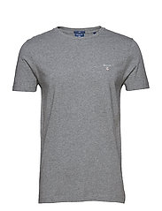 THE ORIGINAL SLIM T-SHIRT - DARK GREY MELANGE