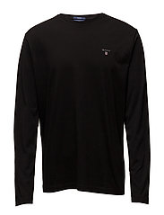 THE ORIGINAL LS T-SHIRT - BLACK