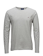 THE ORIGINAL LS T-SHIRT - LIGHT GREY MELANGE