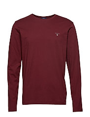 THE ORIGINAL LS T-SHIRT - PORT RED