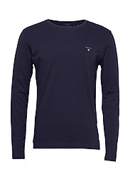 THE ORIGINAL SLIM LS T-SHIRT - EVENING BLUE