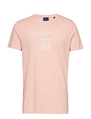 O1. PRINTED GANT SHIELD SS T-SHIRT