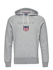 f0781c48 Gant Shield Hoodie (Port Red) (99.99 €) - GANT - | Boozt.com