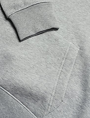 GANT - SHIELD HOODIE - kapuzenpullover - grey melange - 3
