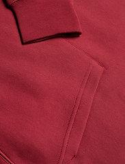 GANT - SHIELD HOODIE - hoodies - mahogany red - 3