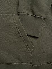 GANT - SHIELD HOODIE - hoodies - thyme green - 3