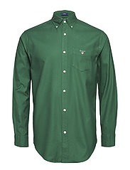 O3. BRUSHED OXFORD REG BD - IVY GREEN