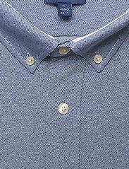 GANT - TP SLIM PIQUE BD - basic shirts - persian blue - 2