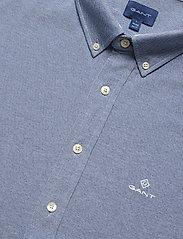 GANT - TP SLIM PIQUE BD - basic shirts - persian blue - 3