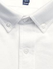GANT - TP SLIM PIQUE BD - basic shirts - white - 2