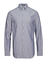TP OXFORD PLAIN REG HBD - INDIGO BLUE