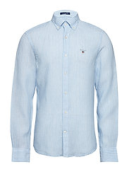 THE LINEN BANKER SLIM BD - CAPRI BLUE