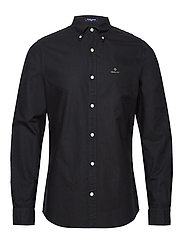 THE BEEFY OXFORD SHIRT SLIM BD - BLACK