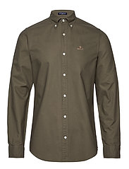 THE BEEFY OXFORD SHIRT SLIM BD - SEA TURTLE