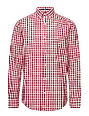 O1. CAMPUS OXFORD CHECK REG BD - CREAM