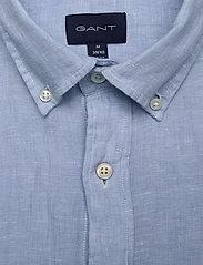 GANT - SLIM LINEN SHIRT BD - basic-hemden - capri blue - 2