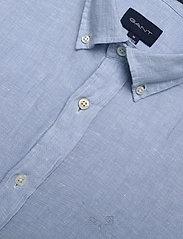 GANT - SLIM LINEN SHIRT BD - basic-hemden - capri blue - 3