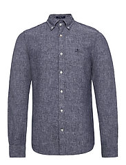 THE LINEN SHIRT SLIM BD - PERSIAN BLUE