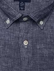 Gant - THE LINEN SHIRT SLIM BD - chemises basiques - persian blue - 2
