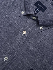 Gant - THE LINEN SHIRT SLIM BD - chemises basiques - persian blue - 3