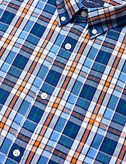 GANT - D1. WINDBLOWN OXFORD CHECK REG BD - oxford shirts - pacific blue - 3