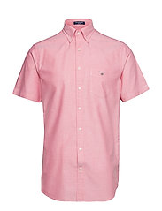 THE OXFORD SHIRT REG SS BD - WATERMELON RED