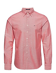 SLIM OXFORD SHIRT BD - BRIGHT RED