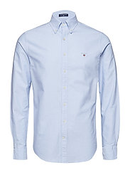 SLIM OXFORD SHIRT BD - CAPRI BLUE