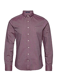 SLIM OXFORD SHIRT BD - PORT RED