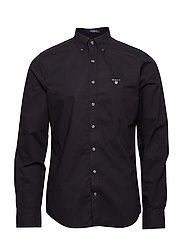 THE BROADCLOTH SLIM BD - BLACK