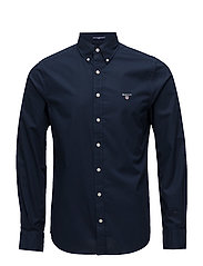 THE BROADCLOTH SLIM BD - MARINE