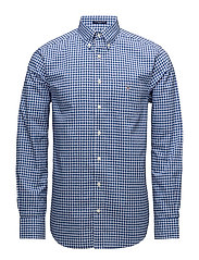 THE BROADCLOTH  GINGHAM REG BD - YALE BLUE
