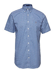 THE BROADCLOTH GINGHAM REG SS BD - COLLEGE BLUE