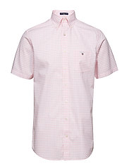 THE BROADCLOTH GINGHAM REG SS BD - SHADOW ROSE