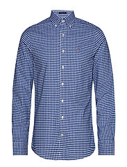 THE BROADCLOTH GINGHAM SLIM BD - YALE BLUE