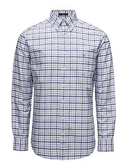 THE OXFORD 3 COL GINGHAM REG BD - SOFT VIOLET