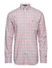 THE B-CLOTH 3 COL GINGHAM REG BD - PINK ROSE